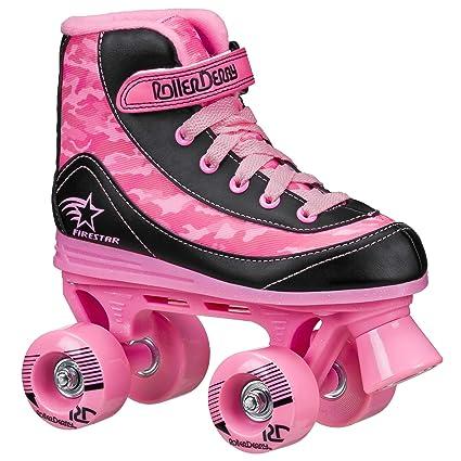 Roller Skates Amazon Com >> Roller Derby Youth Girls Firestar Roller Skate