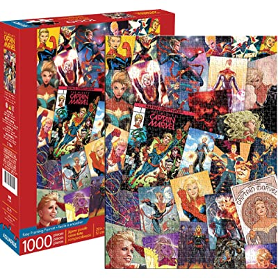 Marvel Captain Marvel Collage 1000 pc Puzzle: Toys & Games