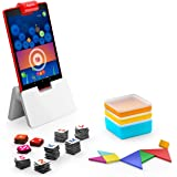 Osmo - Genius Starter Kit for Fire Tablet -Ages 6-10 - Math, Spelling, Creativity & More - STEM Toy (Osmo iPad Base Included)