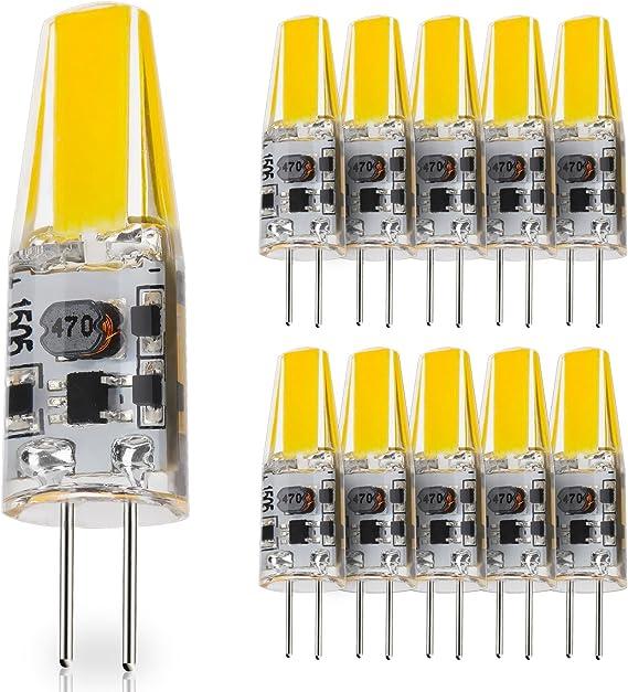 10-Pack G4 Base 2W LED Bulbs