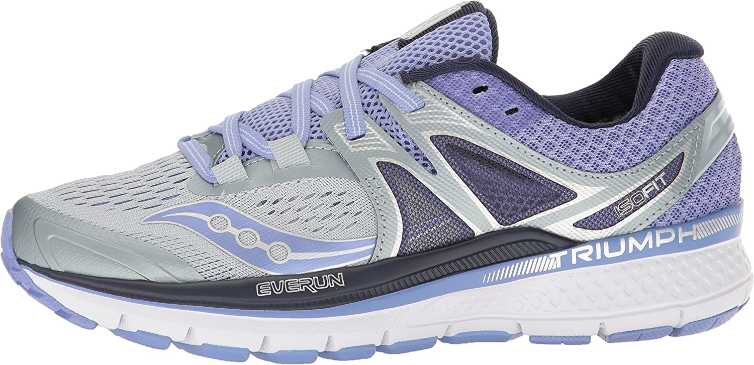 Saucony Womens Triumph Iso 3 Running Sneaker