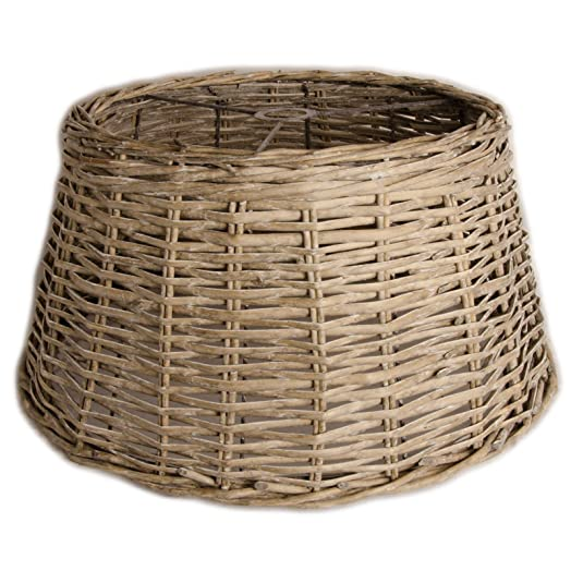 Ceiling lampshade country wicker round basket lamp shade grey ceiling lampshade country wicker round basket lamp shade grey washed xl xxl aloadofball Gallery