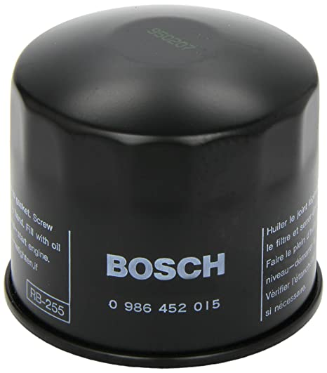 Amazon.com: Bosch 0986452015 Filtro de aceite: Automotive