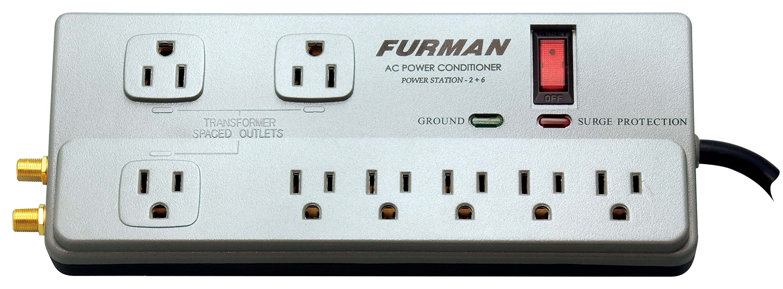 Best Rated In Power Conditioners Helpful Customer Reviews Home Network Using Electrical Wiring On Popscreen Furman Pst 2 6 Station Product Image