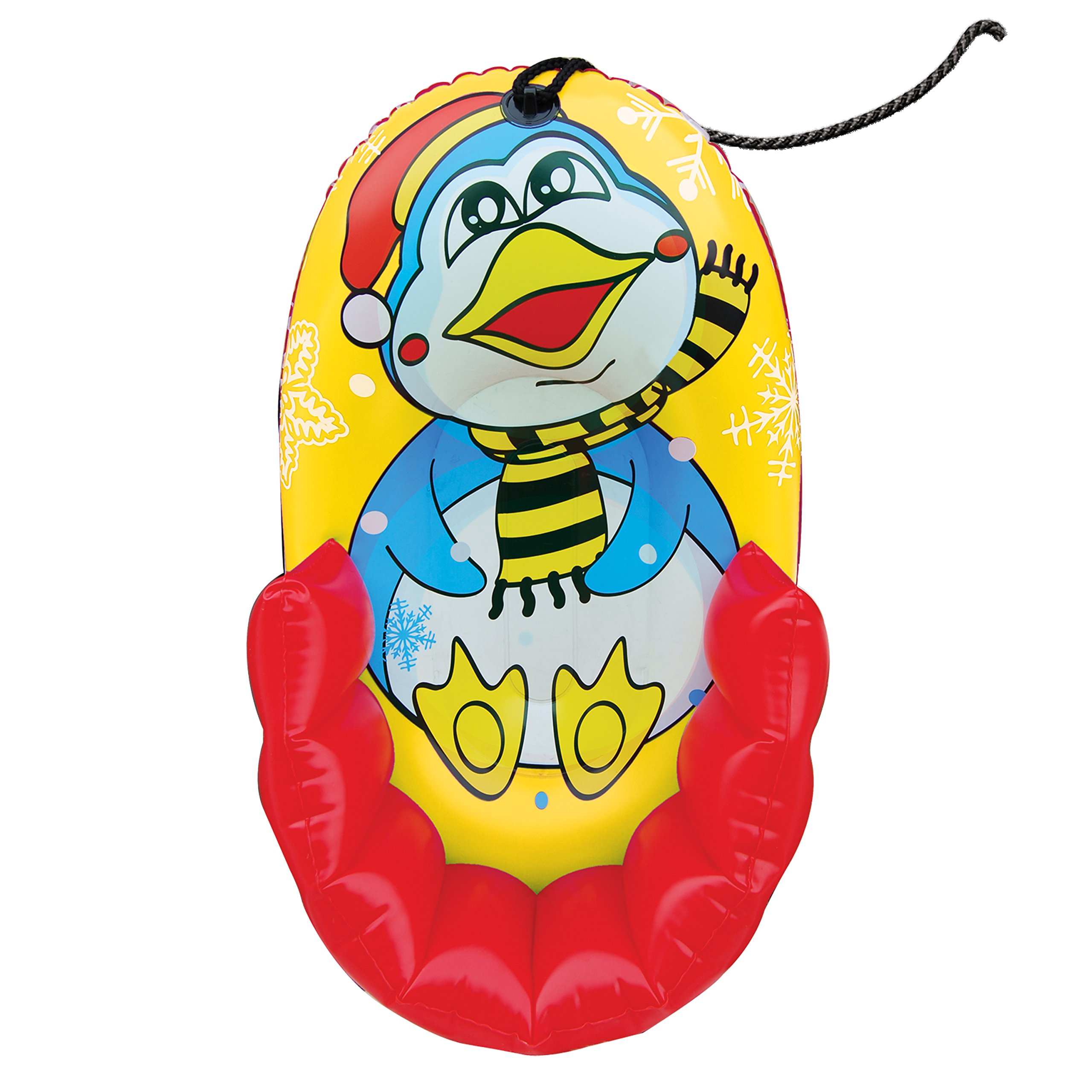 Pipeline Sno 33'' Kiddie Snow PENGUIN Character Pull Sled by Pipeline Sno