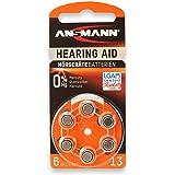 Ansmann PR48 Zinc Air Modèle n° 13 Piles pour appareils auditifs