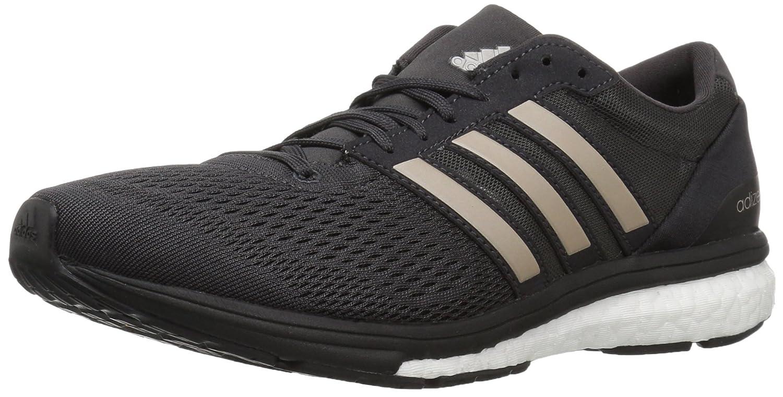 adidas Women's Adizero Boston 6 W Running Shoe B01MU2W4LO 11.5 B(M) US|Utility Black/Platin/Black