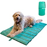 BomGaroto Portable Pet Mat - 46.5 x 33 Inch Cat and Dog Mat for Crate Bed, Dog Cage, Fireside or Camping! Waterproof Dog…