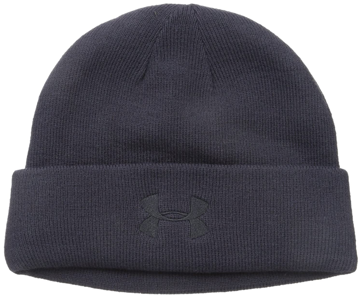 Under Armour Men's Tactical Stealth Beanie, Dark Navy Blue (465)/Dark Navy Blue, One Size Under Armour Accessories 1219736