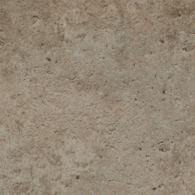 300 BODENMEISTER BM70439 Vinylboden PVC Bodenbelag Meterware 200 Steinoptik Betonoptik hell-grau 400 cm breit