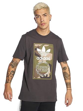 nice shoes coupon codes wholesale outlet adidas Originals T-Shirt Herren CAMO Tee DV2060 Schwarz ...