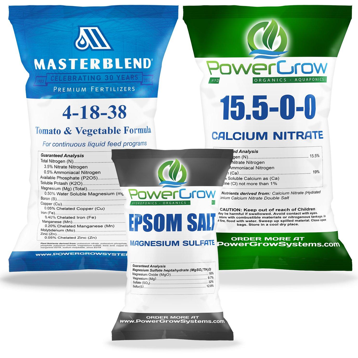 MASTERBLEND 4-18-38 Complete Combo Kit Fertilizer BULK (62.5 Pound Kit)
