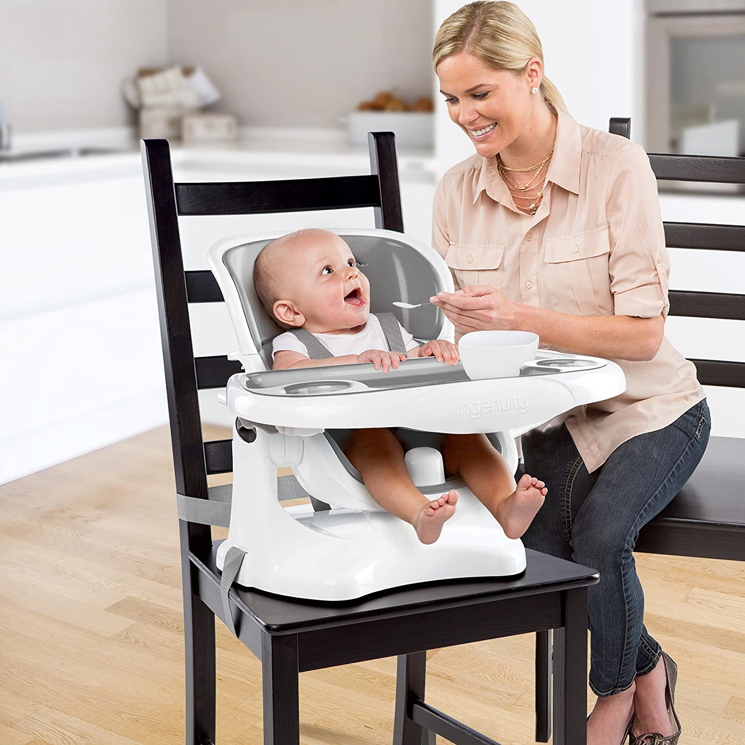 amazon com ingenuity smartclean chairmate chair top high chair