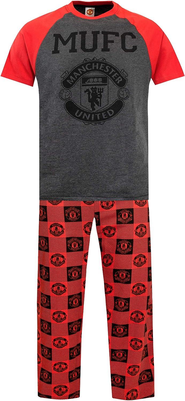 Boys Football Pajamas Manchester United Pj Set Sleepwear