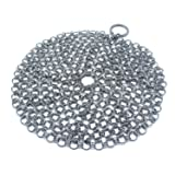 Cast Iron Cleaner Chainmail with Hook, 316
