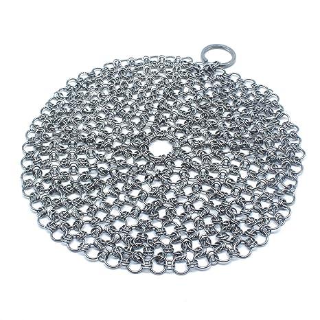 Limpiador de hierro fundido con gancho, 316 acero inoxidable ...