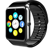 Smartwatch niños Bluetooth 4.0 con la Batería de larga duración,BraceTek reloj inteligente para niños con la Camara,con Instrucción en Español, Podómetro,Fitness tracker para moviles Android