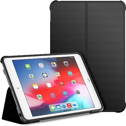 Oferta amazon: JETech Funda Compatible iPad Mini 5 y iPad Mini 4 (2019/2015 Model, 5th/4th Generacion), Soporte de Doble Plegables y Contraportada de TPU a Prueba de Choques, Auto-Sueño/Estela, Negro