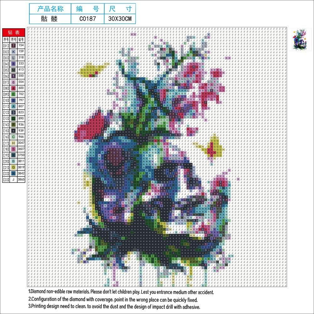 5D DIY Full Drill Diamond Painting Embroidery Kit Needlework Art Decor LH