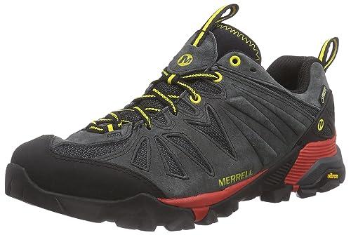 Merrell Capra Gore Tex  Men s Lace up Hiking Boots   Granite  7