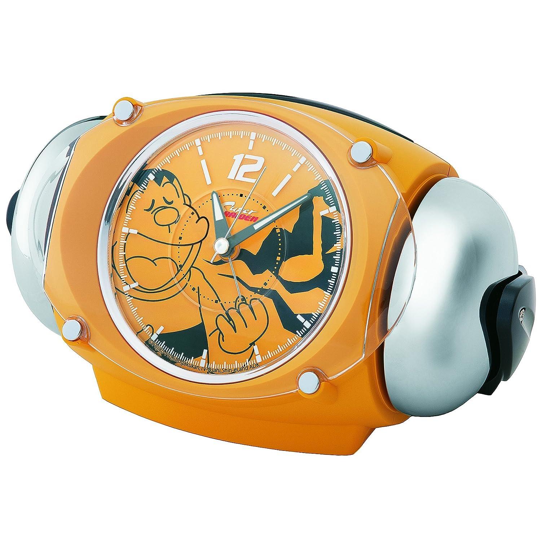 セイコー クロック 目覚まし時計 ジャイアン アナログ 大音量 ベル音 RAIDEN ライデン 黄色 CQ320Y SEIKO B01G5695GC
