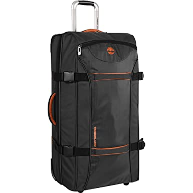 42b870d0259c Timberland Wheeled Duffle Bag - 30 Inch Lightweight Large Rolling Luggage  Travel Bag Suitcase for Men