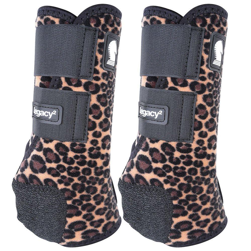 クラシックロープ会社legacy2 Hind保護用ブーツ2パックL Cheetah B0795PFBJZ