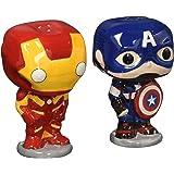 Funko - Salière et Poivrière Marvel - Captain America & Iron Man Pop - 0849803056001