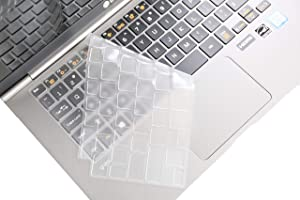 "Leze - Ultra Thin Keyboard Protector Skin Cover for 13.3"" LG Gram 13Z980 13Z990,14"" LG Gram 14Z980 14Z990 Full HD IPS Display Laptop - TPU"