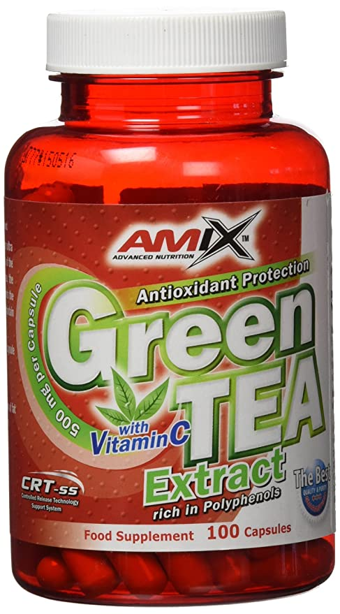 Amix 8594159536777 - Green tea extract vitaminas y minerales, 74 gr