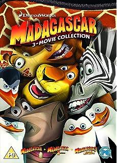 Madagascar & Penguins of Madagascar: The 4-Movie Collection