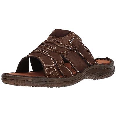 Propet Men's Jace Slide Sandal, Coffee, 15 5E US | Sport Sandals & Slides