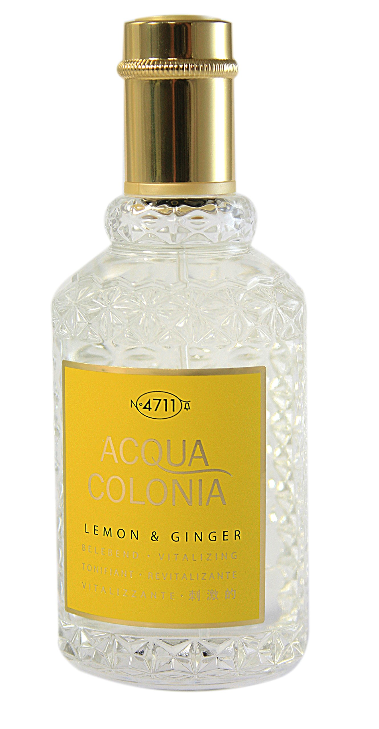 4711 Acqua Colonia Lemon and Ginger Eau de Cologne Spray, 5.7 Ounce