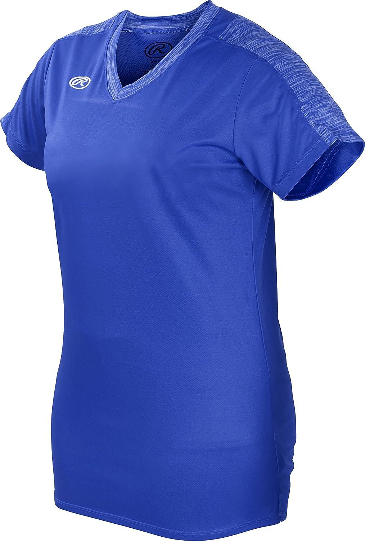 RawlingsソフトボールレディースLaunchシリーズレディース半袖ジャージ B075TPD8HY Medium|ロイヤルブルー ロイヤルブルー Medium