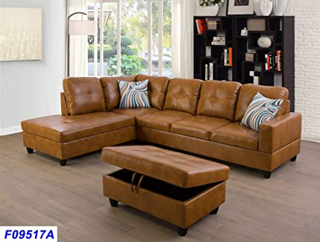 Amazon.com: AYCP Sectional Sofa with Chaise and Storage ...
