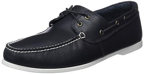 Timberland Cedar Bay (Wide fit), Mocasines para Hombre, Azul (Navy Galloper Full Grain), 50 EU: Amazon.es: Zapatos y complementos