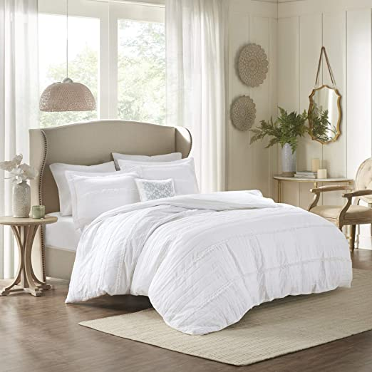 Amazon.com: Madison Park Celeste Duvet Cover King/Cal King Size
