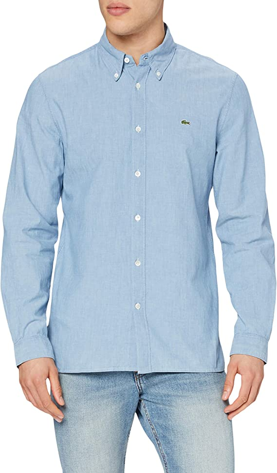 Lacoste Camisa de Vestir para Hombre