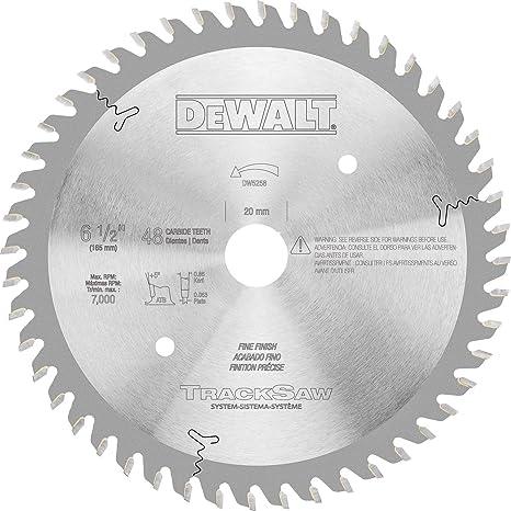 Amazon.com: DeWalt dw5258 6 – 1/2-inch por 48T Ultra Fina ...