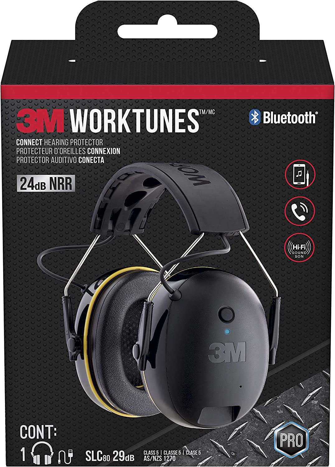 Worktunes Connect Hearing Protector With Bluetooth Technology Amazon Com