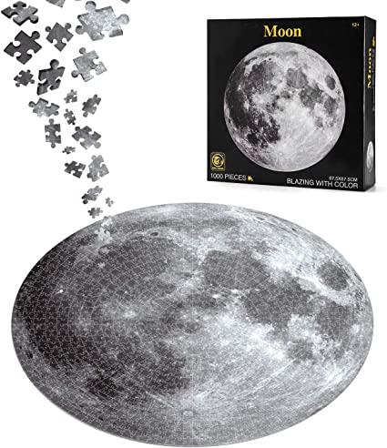 1000 Piece Puzzles for Adults Jigsaw Puzzle Earth for Spare Time Funplay 1000pcs Difficult