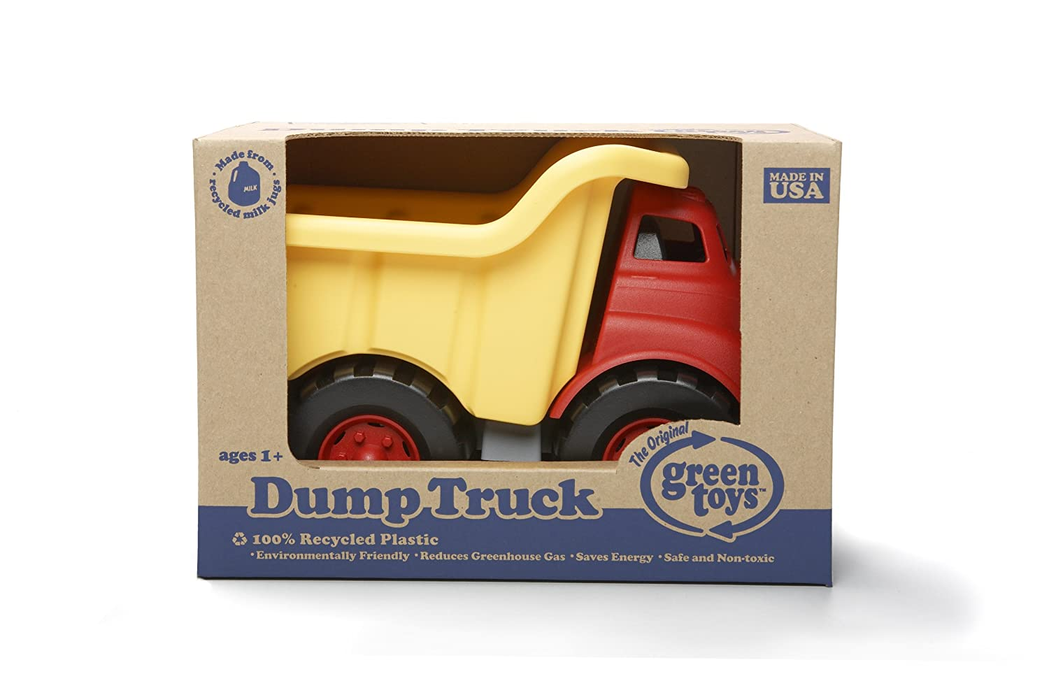 amazon com green toys dump truck toys u0026 games