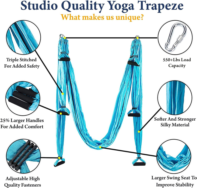 Amazon.com: Sellado Productos Aerial Yoga Swing - Premium ...