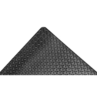 NoTrax 509 Diamond-Tuff Anti-Fatigue/Ant-Slip Mat, 3' X 5' Black