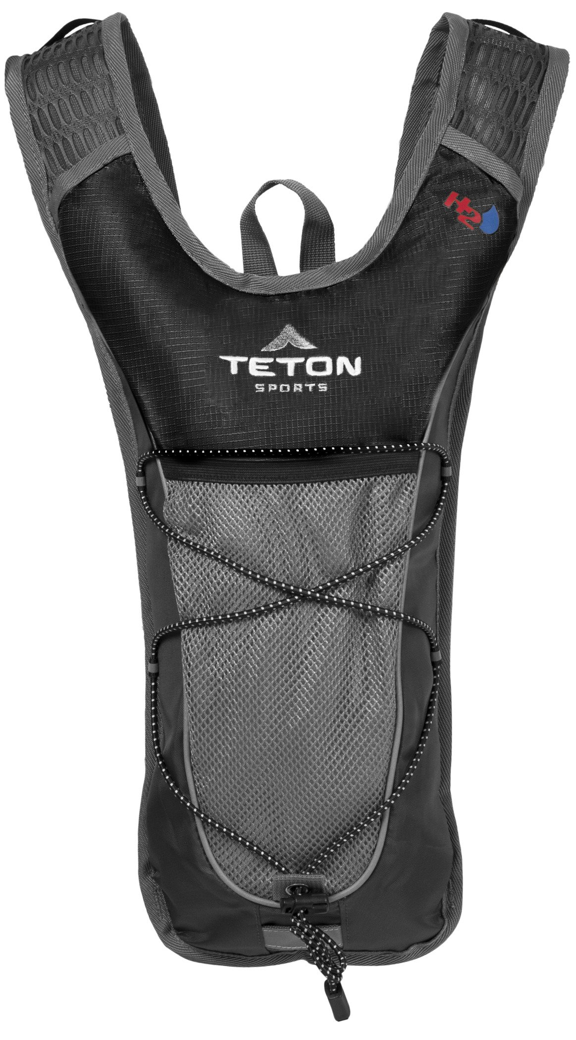 TETON Sports TrailRunner 2.0 Hydration Pack; Backpack for Hiking, Running and Cycling; Free 2-Liter Hydration Bladder; Black by TETON Sports