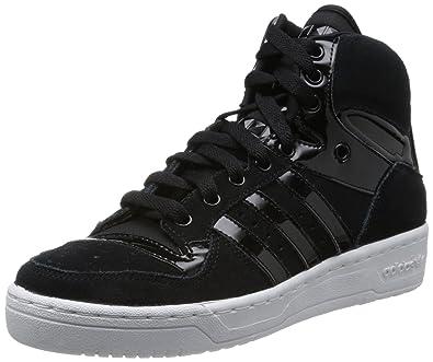 adidas M Attitude Logo EF W Chaussures Baskets Femme Cuir Suede