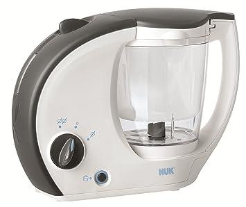 NUK Baby Menu Küchenmaschine 4 in 1 Babymahlzeiten Dampfgaren Pürieren Erwärmen
