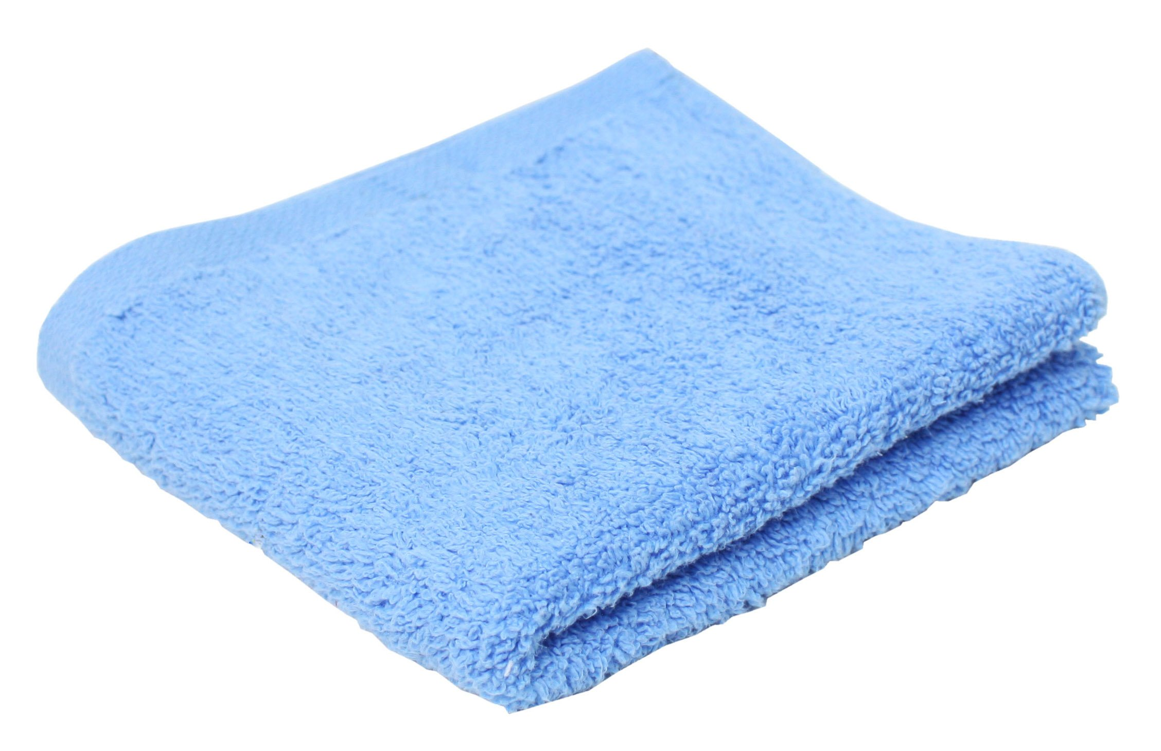 J & M Home Fashions Portofino Hand Towel, Ocean Blue (72 Pack)