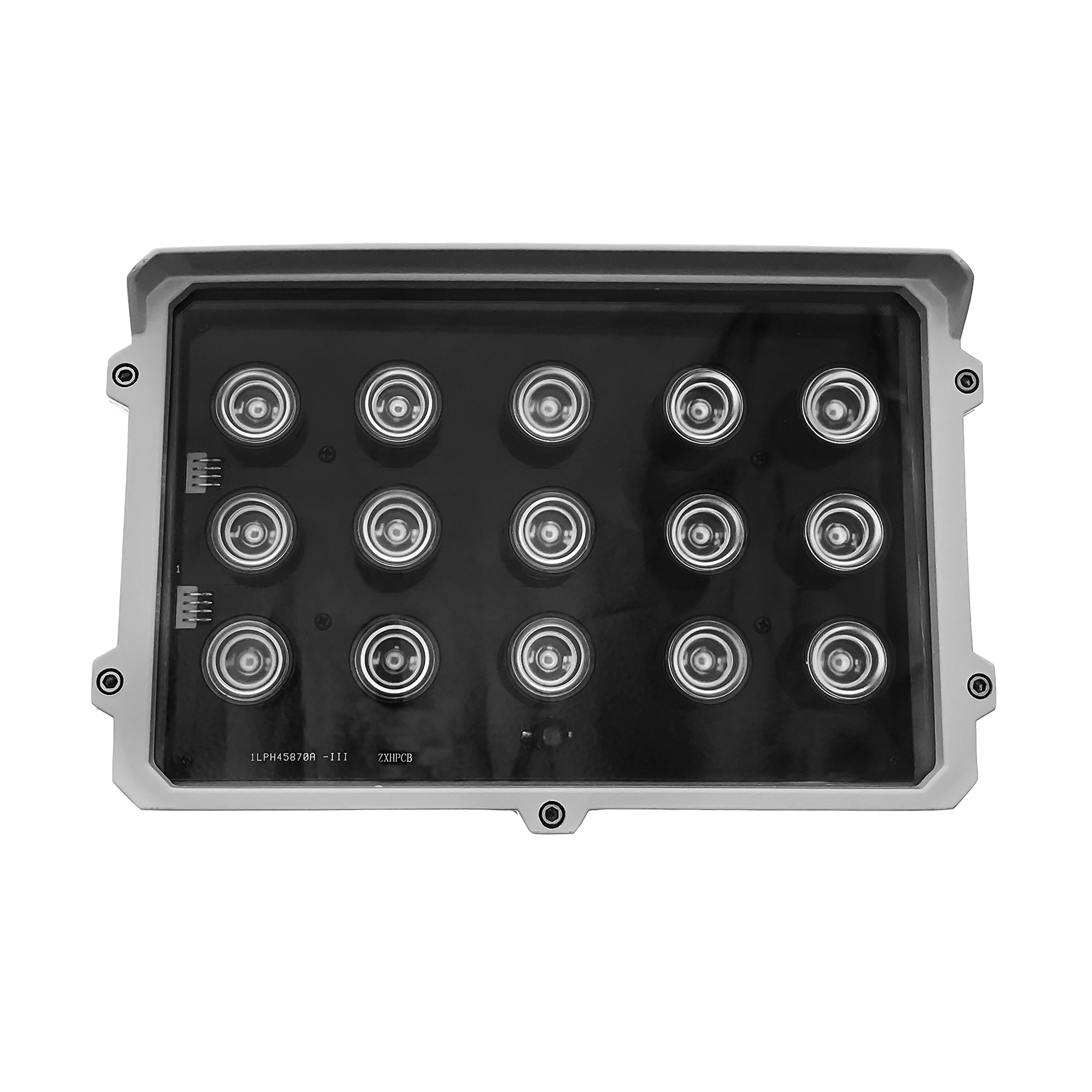 CMVision CMVE-IR15 Wide Angle 60-80° Power LED IR Array Illuminator 200-300' Long Range with Free 12VDC 3A Power Adaptor, 15 Piece by CMVision (Image #1)