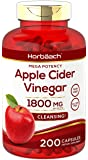 Apple Cider Vinegar Capsules | 1800mg | 200 Pills | Non-GMO, Gluten Free | by Horbaach